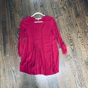 Beautiful Red Maternity Tunic - XS